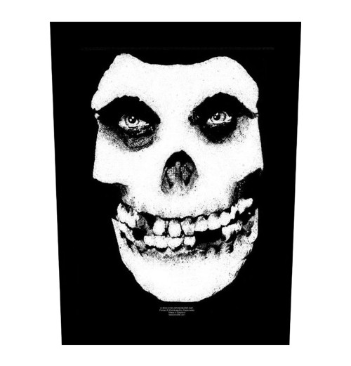 Misfits - Face Skull Backpatch