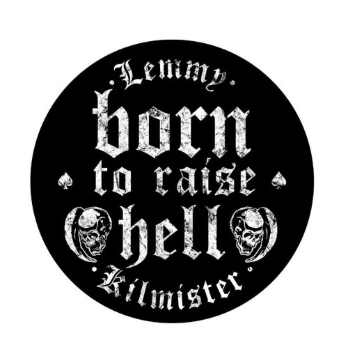 Lemmy - Born To Raise Hell Backpatch