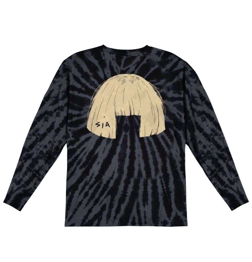 Sia - Big Wig Tie Dye Longsleeve
