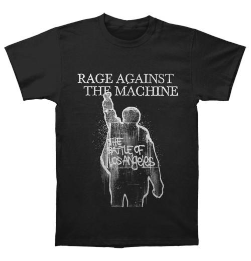 Rage Against The Machine - BOLA Album Cover Tracks Black