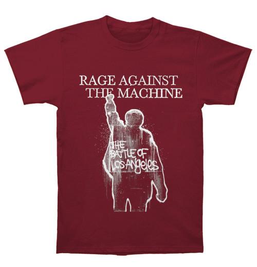 Rage Against The Machine - BOLA Album Cover Tracks Maroon