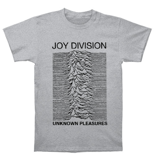 Joy Division - Unknown Pleasures Grey