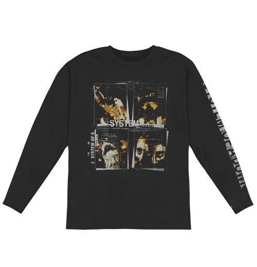 System Of A Down - Face Boxes Longsleeve