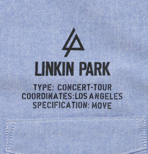 Linkin Park - LIP Tour Of Duty Oxford Shirt
