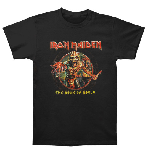 Iron Maiden - The Book Of Souls Eddie