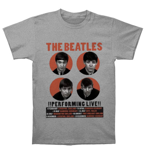 The Beatles - 1962 Performing Live Grey