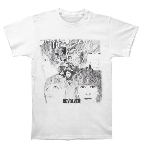 The Beatles - Revolver Album Cover White