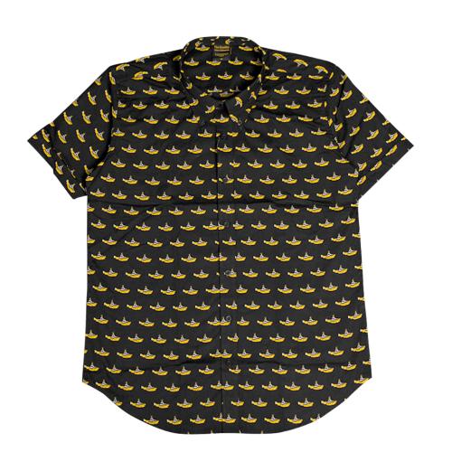 The Beatles - Yellow Submarine Black Shirts