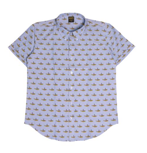 The Beatles - Yellow Submarine Denim Shirts
