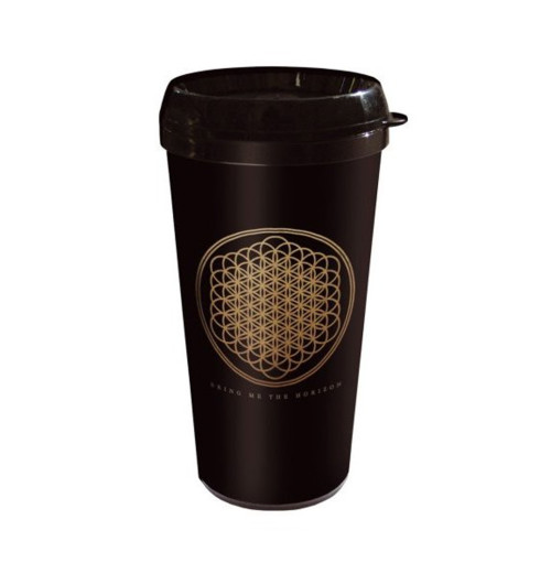Bring Me The Horizon - Flower Plastic Travel Mug