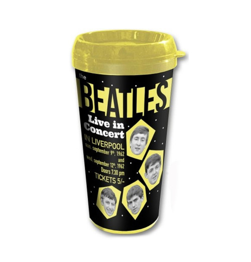 The Beatles - Live in Concert Travel Mug