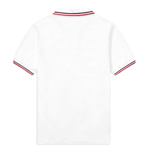 The Rolling Stones - Classic Tongue White Polo Shirt