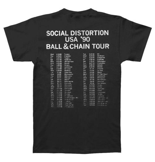 Social Distortion - Ball And Chain Tour
