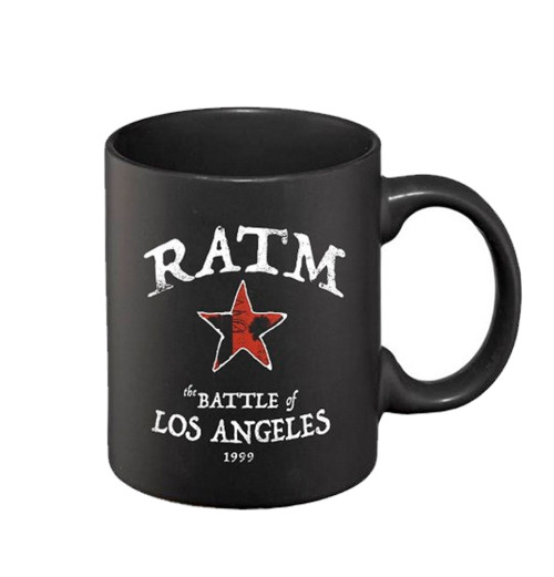 Rage Against The Machine - Battle Star Black Mug