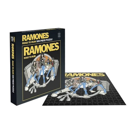 Ramones - Road To Ruin 500 Piece Jigsaw Puzzle