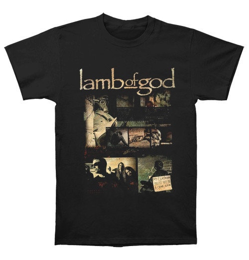 Lamb Of God - Album Collage