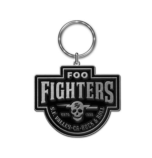 Foo Fighters - Est 1995 Cast Metal Keychain