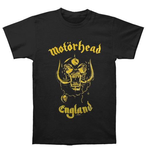 Motorhead - England Classic Gold