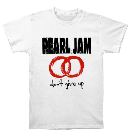 Pearl Jam - Don't Give Up White