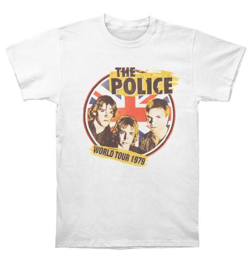 The Police - 1979 World Tour White
