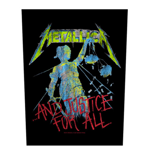 Metallica - And Justice For All Backpatch