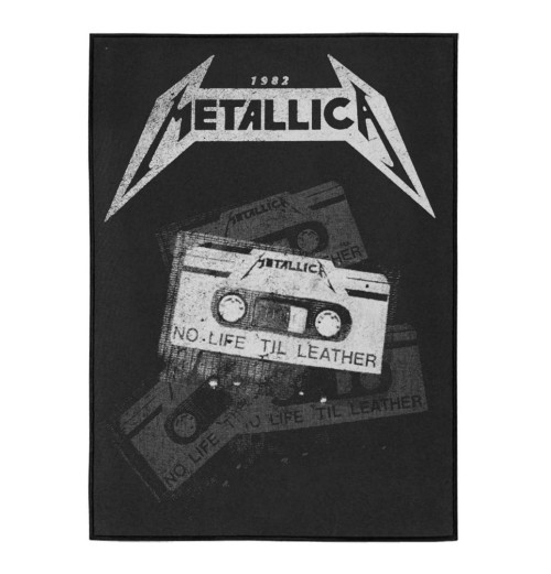 Metallica - No Life Till Leather Backpatch