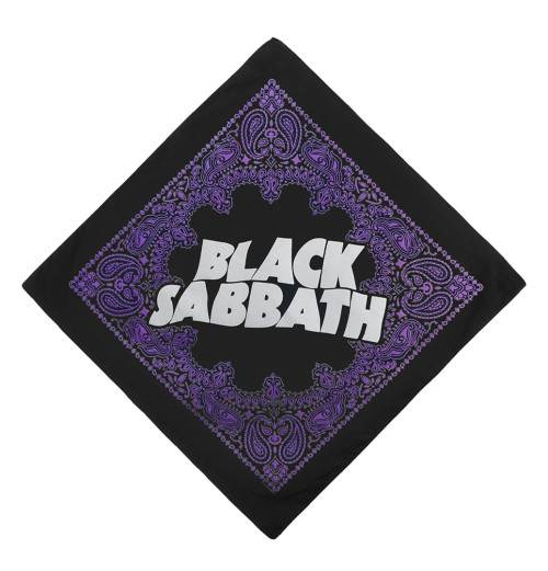 Black Sabbath - Logo Bandana