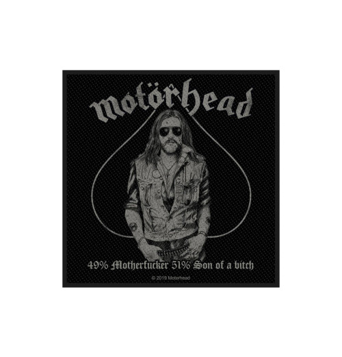 Motorhead - 49% Motherfucker Patch