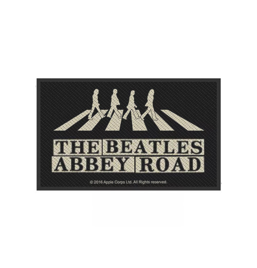 The Beatles - Abbey Road Crossing and Street Sign Patch