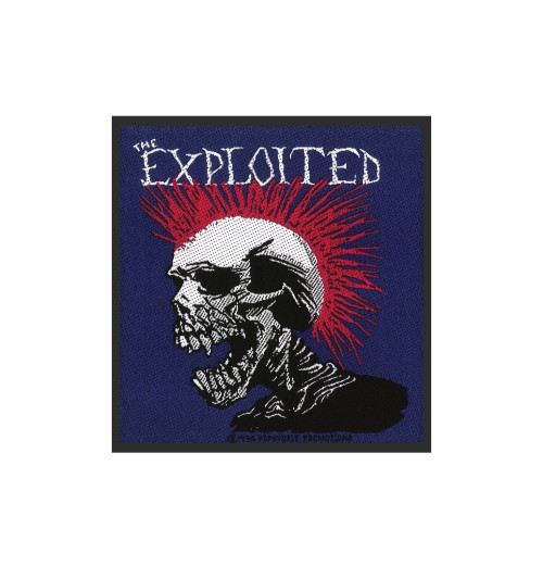 The Exploited - Mohican Patch