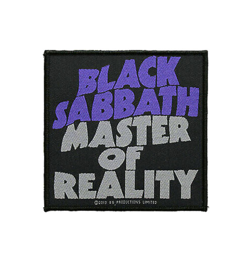 Black Sabbath - Master Of Reality Retail Packaged Patch