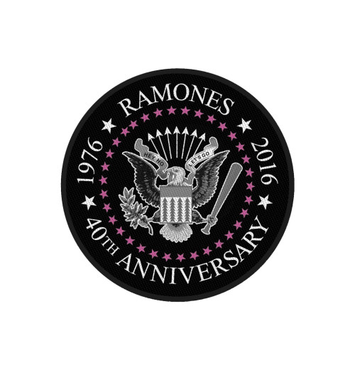 Ramones - 40th Anniversary Retail Packaged Patch