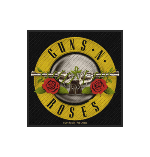 Guns N Roses - Bullet Logo Retail Packaged Patch