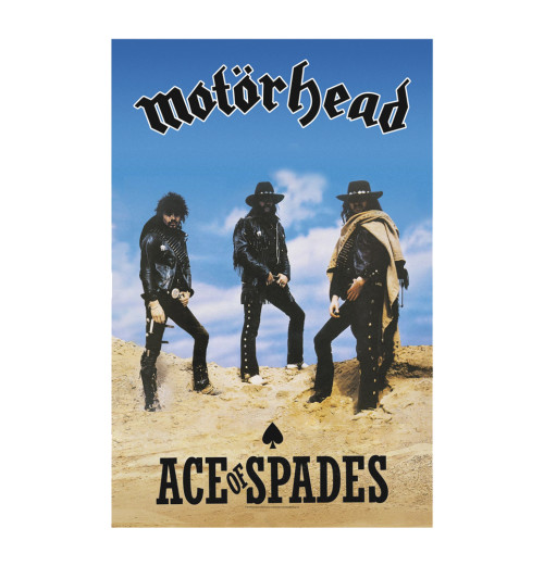 Motorhead - Ace Of Spades Textile Poster