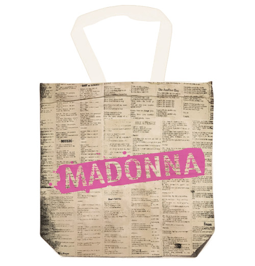 Madonna - Celebration Cotton Totebag