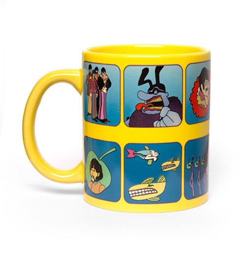 The Beatles - Yellow Submarine Characters Boxed Mug