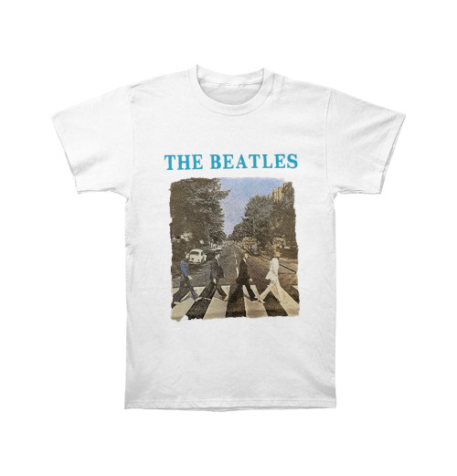 The Beatles - Packaged Abbey Road And Logo Boys White