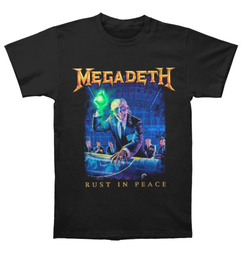 Megadeth - Rust In Peace Tracklist