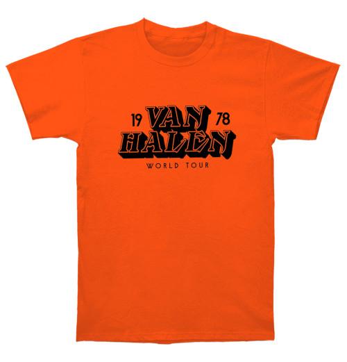 Van Halen - World Tour 78 Orange
