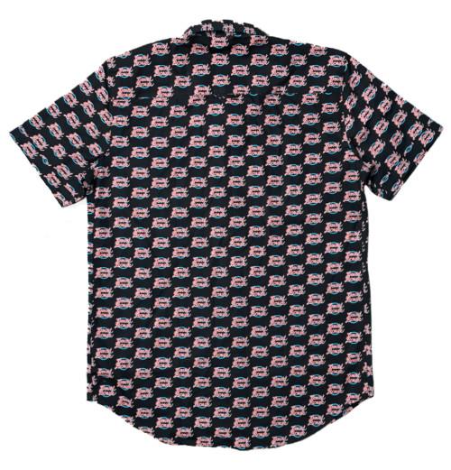 David Bowie - World Tour Logo Pattern Shirt