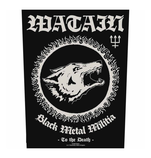 Watain - Black Metal Milita Backpatch