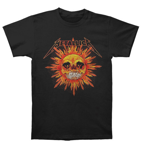 Metallica - Pushead Sun