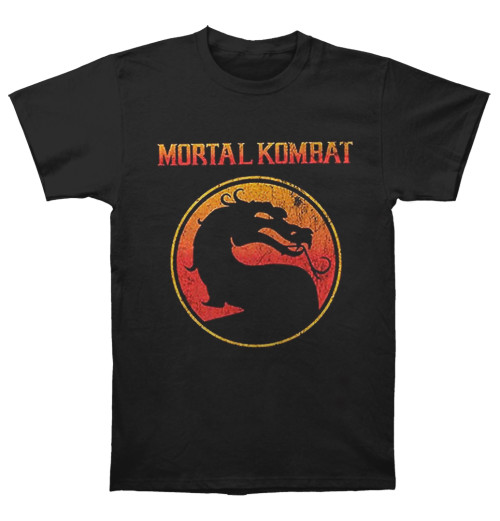 Mortal Kombat - Dragon Outline