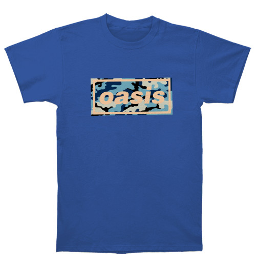 Oasis - Camo Logo Royal
