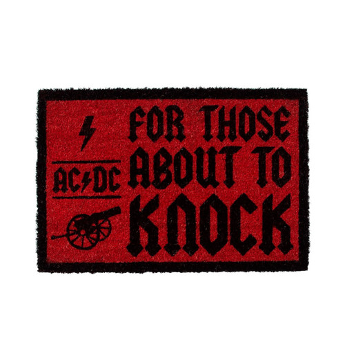 ACDC - For Those About To Knock Doormat