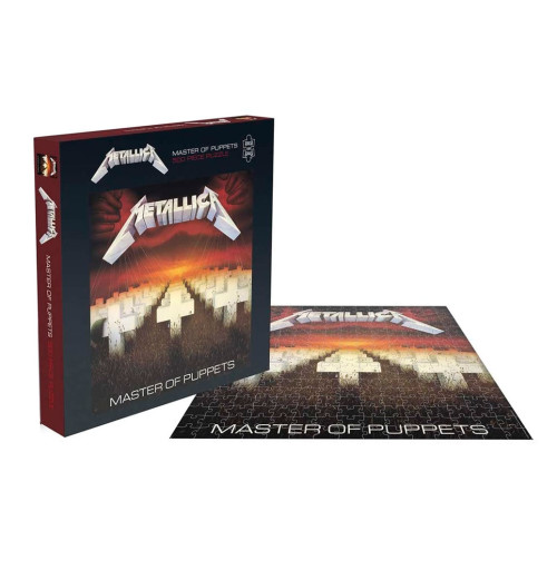 Metallica - Master Of Puppets 500 Piece Jigsaw Puzzle