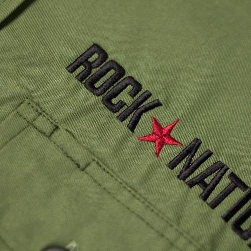 Rock Nation - Green Work Shirt