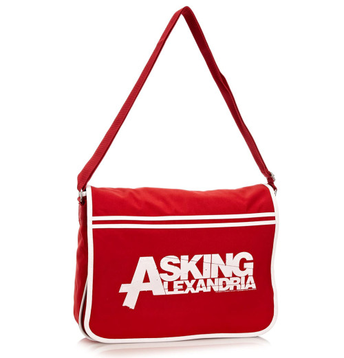 Asking Alexandria - Logo New Red Retro Bag