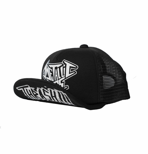 Metallic Ass - Thrash Trucker Cap Black
