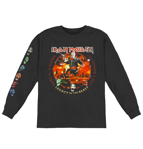 Iron Maiden - Nights Of The Dead Longsleeve
